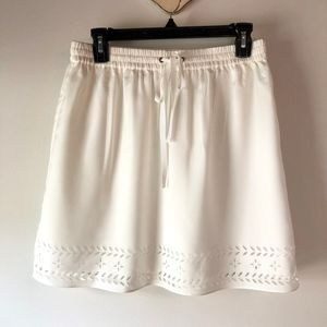 J. Crew Factory Cream Skirt NWT